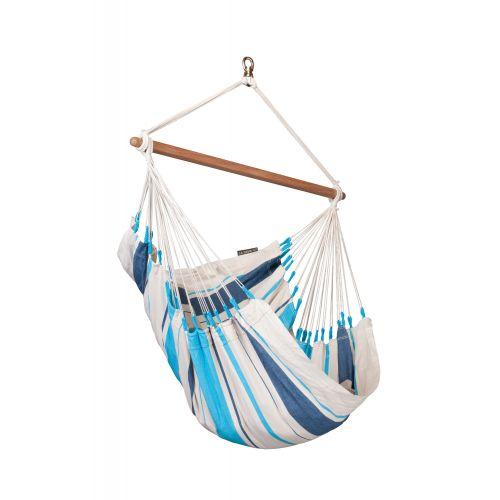 Caribeña Aqua Blue - Silla colgante basic de algodón