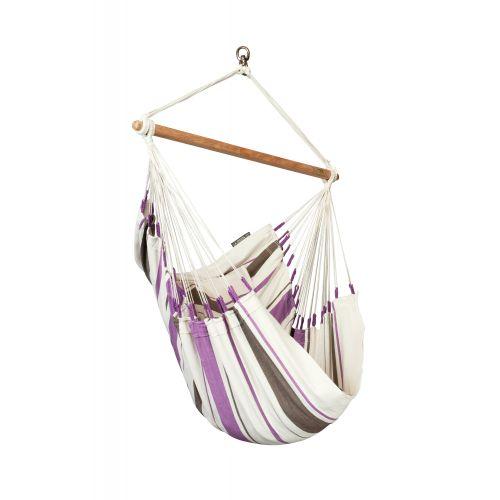 Caribeña Purple - Silla colgante basic de algodón