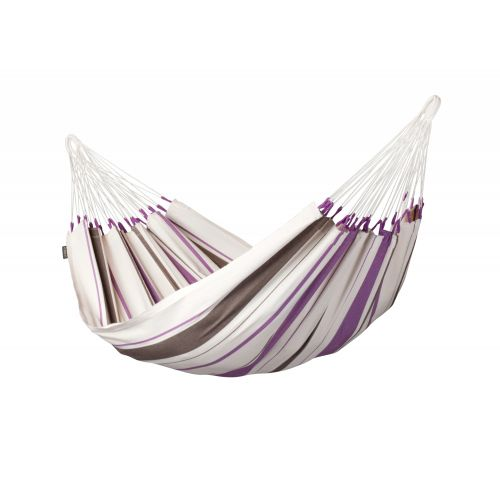 Caribeña Purple - Hamaca clásica individual de algodón