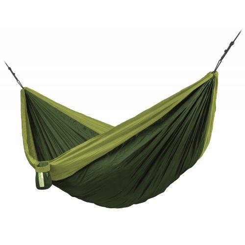 Colibri 3.0 Forest - Hamaca de viaje doble con sujeción