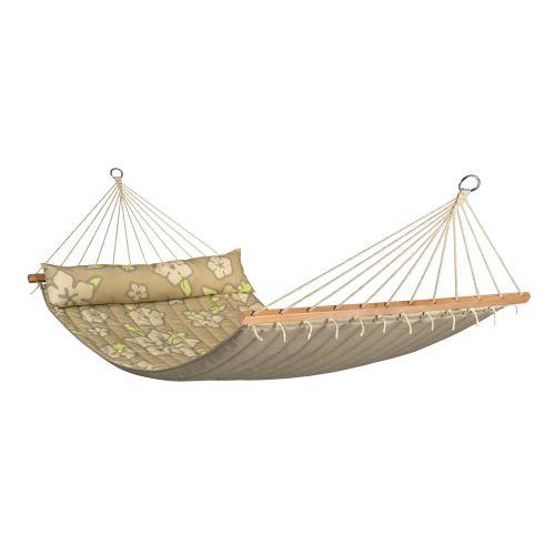 Hawaii Coconut - Hamaca con barra doble acolchada