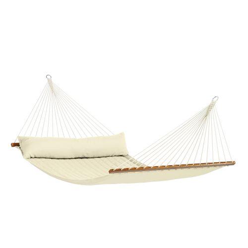 Alabama Vanilla - Hamaca con barra kingsize acolchada