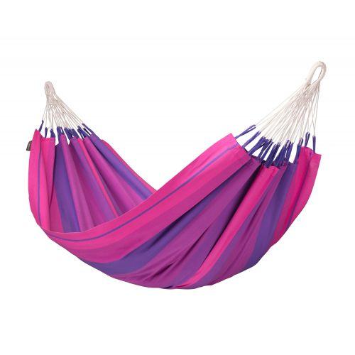 Orquídea Purple - Hamaca clásica individual de algodón
