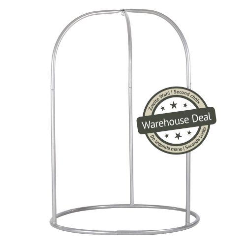 Romano Silver - Soporte de acero lacado en polvo para sillas colgantes basic o lounger