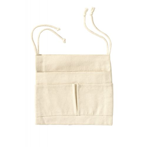 Útil Écru - Bolsa de algodón orgánico para hamacas
